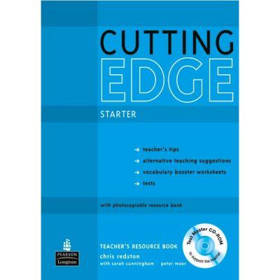 New Cutting Edge Starter Teacher's Resource Book with Test Master CD-ROM - Sarah Cunningham