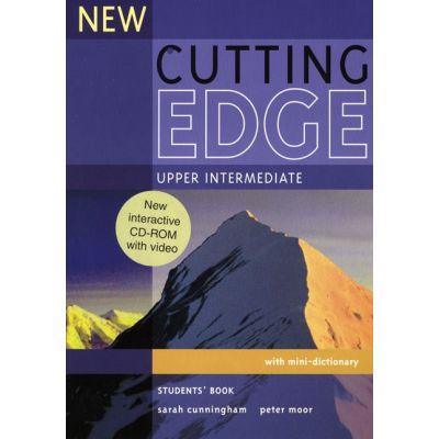 New Cutting Edge Upper Intermediate Student's Book and CD Pack - Sarah Cunningham