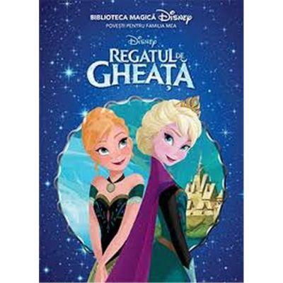 Disney: Regatul de Gheata. Biblioteca magica
