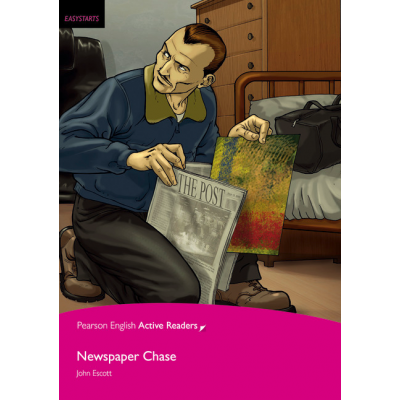 Easystart: Newspaper Chase Book and Multi-ROM with MP3 Pack - John Escott