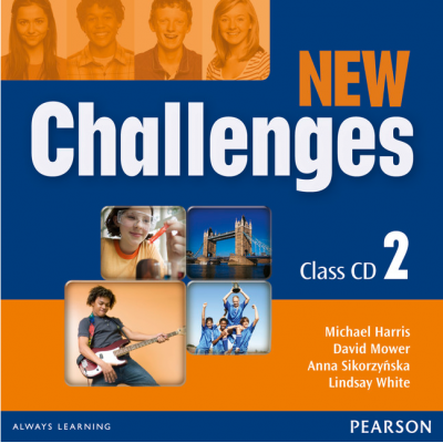New Challenges 2 Class CDs - Lindsay White