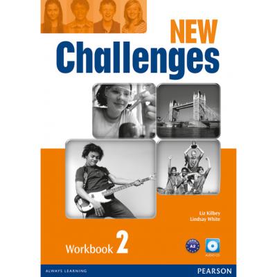 New Challenges 2 Workbook & Audio CD Pack - Liz Kilbey