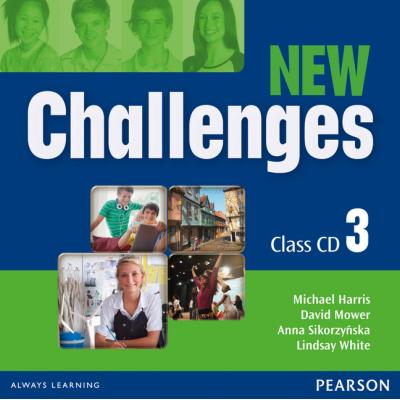 New Challenges 3 Class CDs - Michael Harris