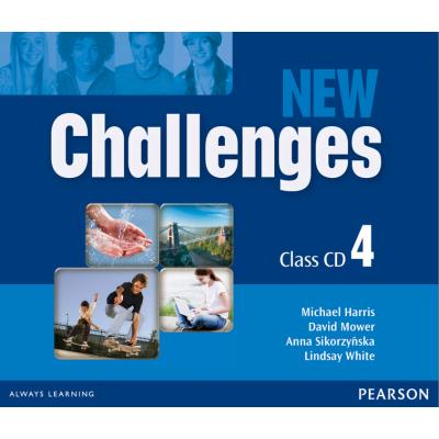 New Challenges 4 Class CDs - Michael Harris