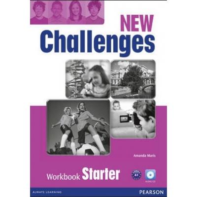 New Challenges Starter Workbook & Audio CD Pack - Amanda Maris