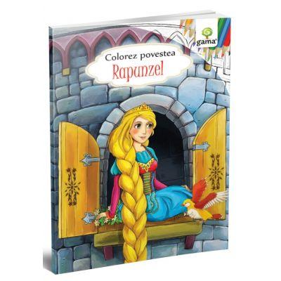 Rapunzel. Colorez povestea