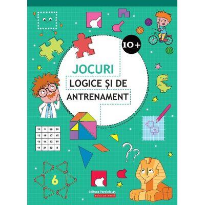 Jocuri logice si de antrenament - 10 ani + (Editie ilustrata)