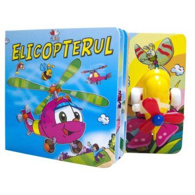 Elicopterul - Carte cu jucarie