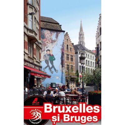 Ghid turistic BRUXELLES si BRUGES - Adina Baranovschi