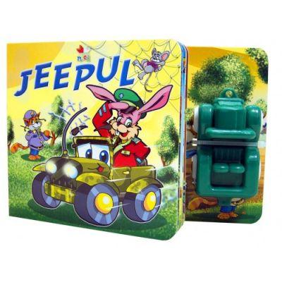Jeepul - Carte cu jucarie