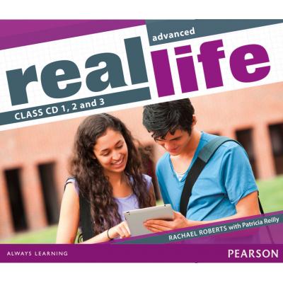 Real Life Advanced Class Audio CDs - Rachael Roberts