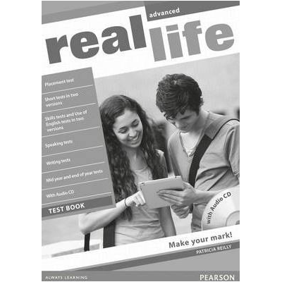Real Life Global Advanced Test Book & Test Audio CD Pack - Rachael Roberts