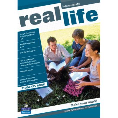 Real Life Global Intermediate Students Book - Sarah Cunningham