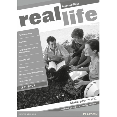 Real life Global Intermediate Test Book & Test Audio CD Pack - Patricia Reilly