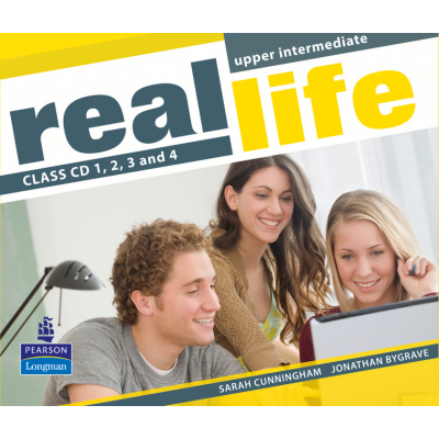 Real Life Global Upper Intermediate Class CDs 1-4 - Sarah Cunningham