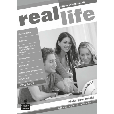 Real Life Global Upper Intermediate Test Book & Test Audio CD Pack - Patricia Reilly