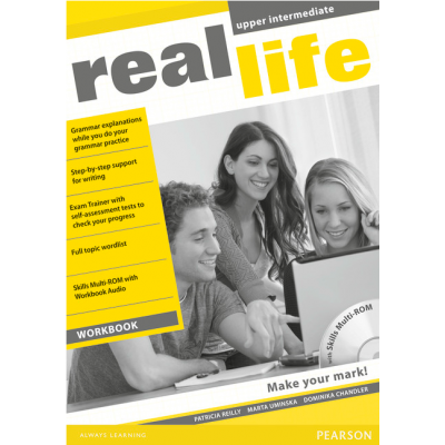 Real Life Global Upper Intermediate Workbook & Multi-ROM Pack - Patricia Reilly