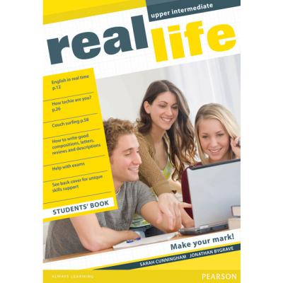 Real Life Upper Intermediate Students Book - Sarah Cunningham
