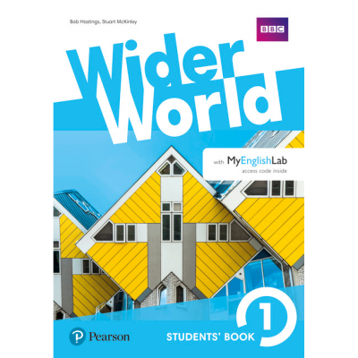 Wider World 1 Students Book with MyEnglishLab Pack - Bob Hastings