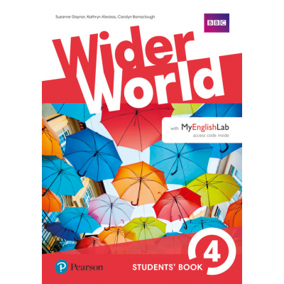 Wider World 4 Students Book with MyEnglishLab Pack - Carolyn Barraclough