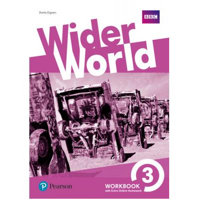 Wider World Level 3 Workbook with Online Homework Pack - Sheila Dignen