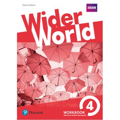 Wider World Level 4 Workbook with Online Homework Pack - Damian Williams