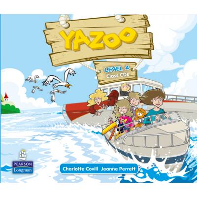 Yazoo Global Level 4 Class CDs (3) - Jeanne Perrett