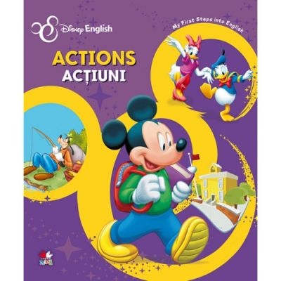 Actions/ Actiuni. My First Steps into English - Disney