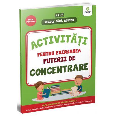 Activitati pentru exersarea puterii de concentrare. 3-4 ani