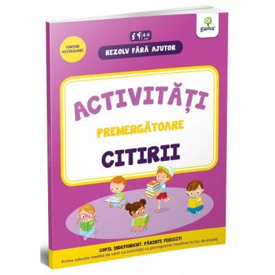 Activitati premergatoare citirii. 4-5 ani