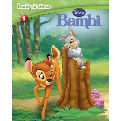 Bambi. Invat sa citesc (nivelul 1) - Disney