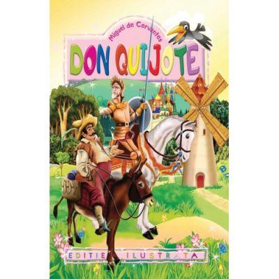 Don Quijote. Repovestire pentru copii - Miguel de Cervantes