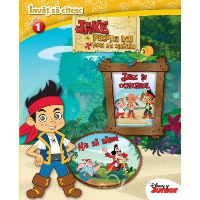 Jake si piratii din Tara de Nicaieri. Invat sa citesc (nivelul 1) - Disney
