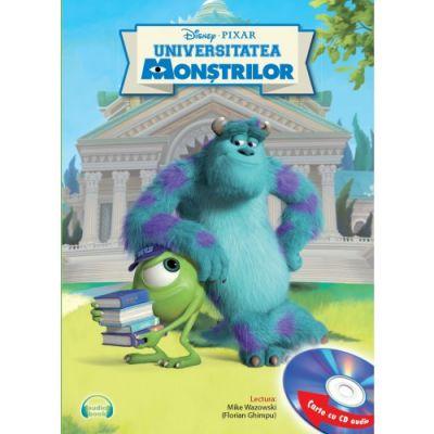 Universitatea monstrilor (Carte + CD audio) - Disney