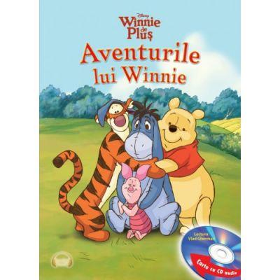 Winnie de plus. Aventurile lui Winnie (Carte + CD audio) - Disney
