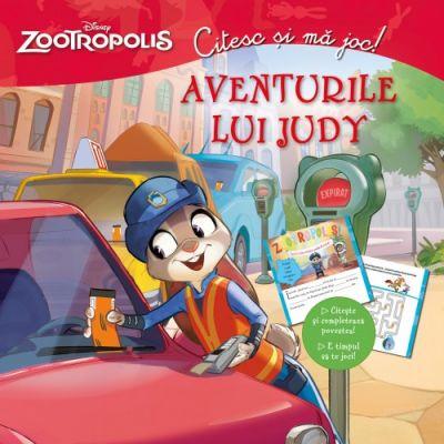 Zootropolis. Aventurile lui Judy. Citesc si ma joc - Disney