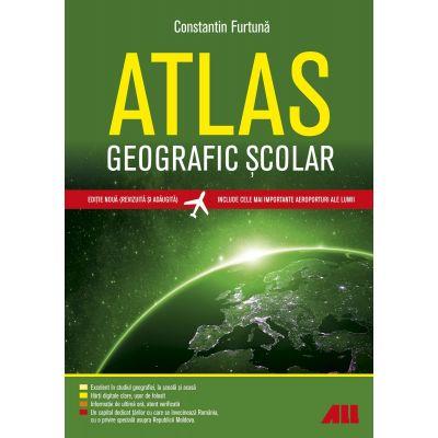 Atlas geografic scolar. Editia a V-a - Constantin Furtuna