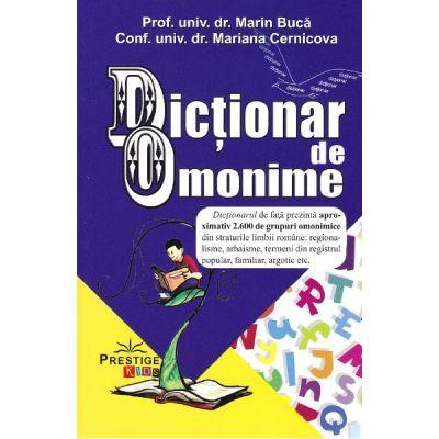 Dictionar de omonime - Marin Buca