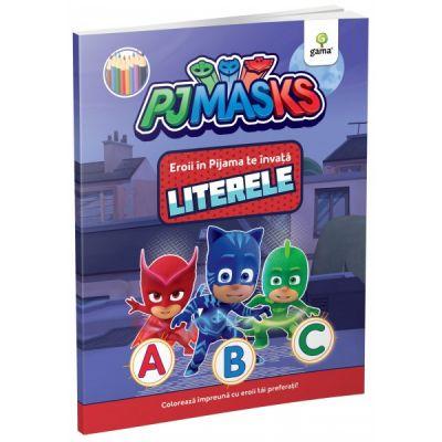 Eroii in Pijama te invata literele