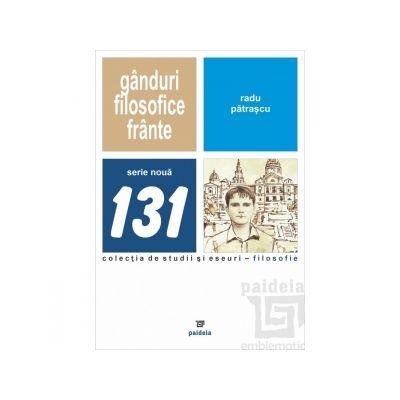 Ganduri filosofice frante, cugetari vieneze - Vasile Morar, Radu Patrascu