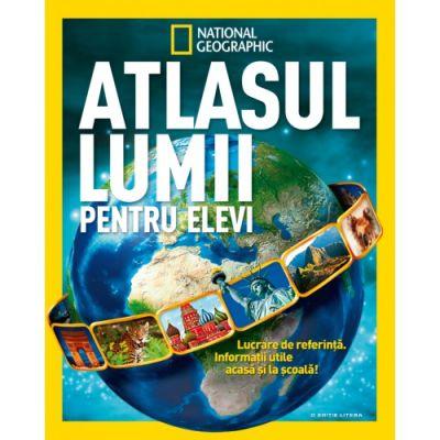 National Geographic. Atlasul lumii pentru elevi (necartonat)