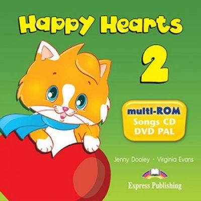 Happy Hearts 2. Multi-Rom - Jenny Dooley, Virginia Evans