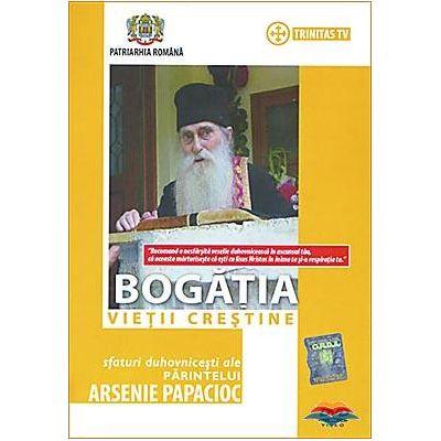 DVD Bogatia vietii crestine. Arsenie Papacioc