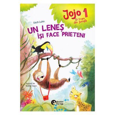 Jojo si trupa din jungla 1. Un lenes isi face prieteni - Usch Luhn, Astrid Henn