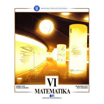 Matematica traducere in limba maghiara. Manual pentru clasa VI - Zaharia Dan, Zaharia Maria, Lint Dorin, Lint Maranda