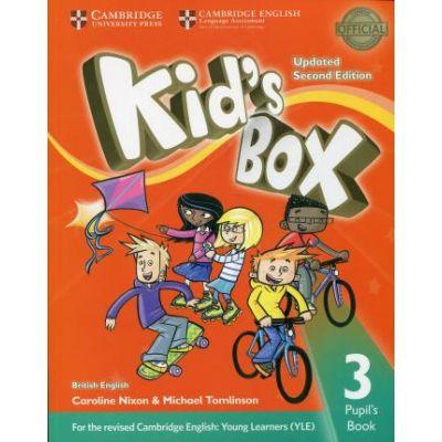 Kid's Box Level 3 Pupil's Book - Caroline Nixon, Michael Tomlinson