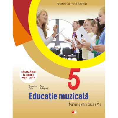 Educatie muzicala. Manual. Clasa a V-a - Florentina Chifu, Petre Stefanescu