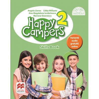 Happy Campers. Skills Book. Clasa a II-a - Angela Lianas