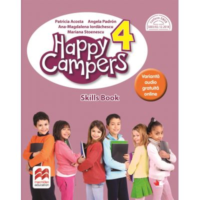 Happy campers. Skills Book. Clasa a IV-a - Patricia Acosta