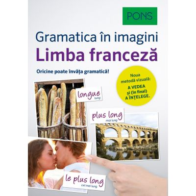 Limba franceza. Gramatica in imagini - Pons